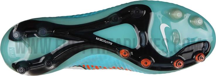 O solado da nova chuteira Nike Magista Obra 2014-2015
