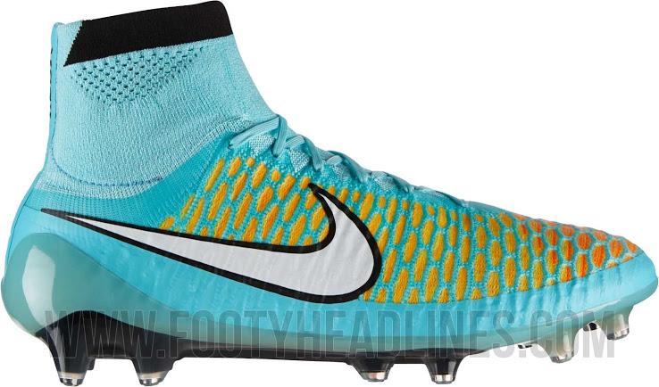 O padrão de cores também será aplicado nas versões secundárias da Nike Magista Obra