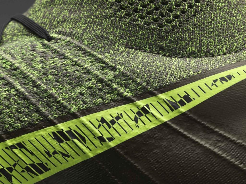 Detalhe da chuteira Nike Mercurial Superfly