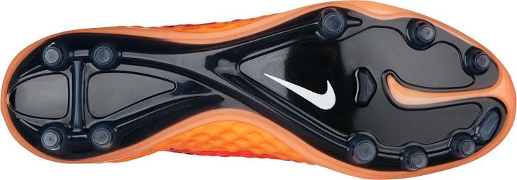 O solado da nova chuteira Nike Hypervenom 2014-2015