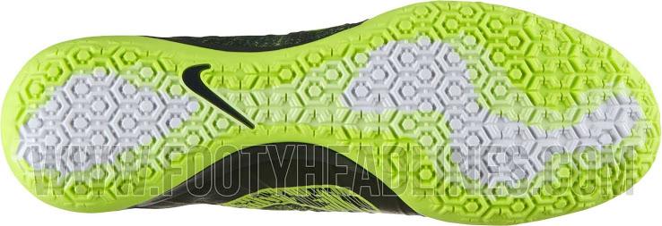 O solado da chuteira Nike Mercurial Superfly 14-15
