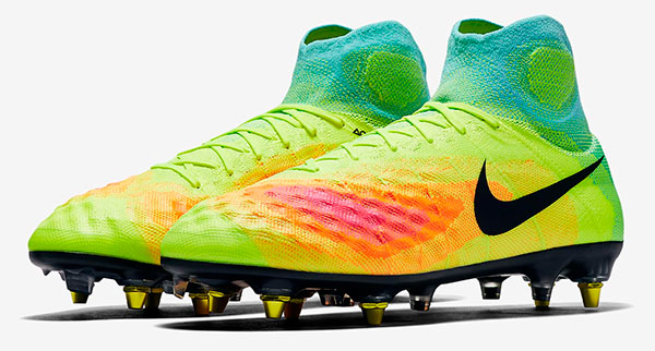 Nova chuteira Nike de botinha modelo Magista anti-lama  18cf41db1b64a