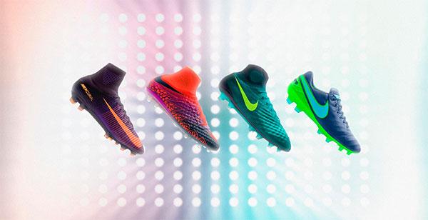 Nike lança a nova coleção de chuteiras Floodlights