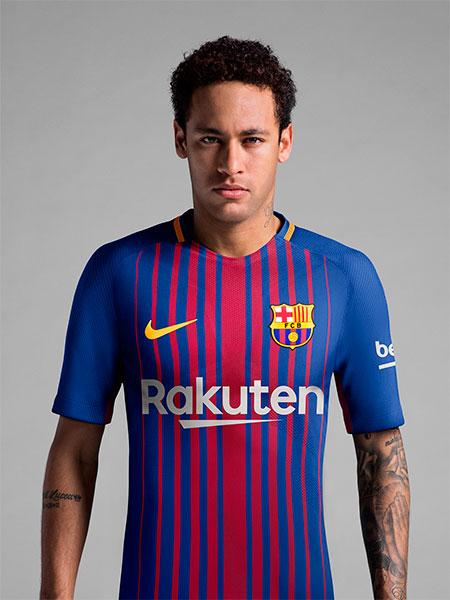 Nova camisa Nike do Barça 2017-2018
