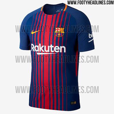 Camisa Barcelona 2017-2018