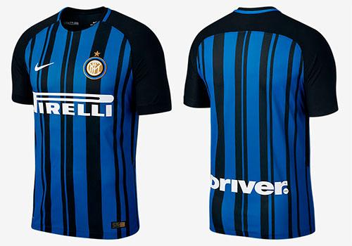 Camisa Inter de Milão 2017-2018 Nike