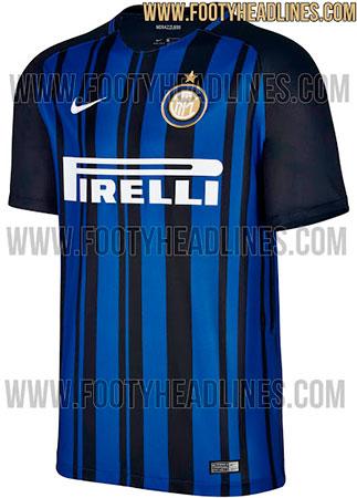 Camisa da Inter de Milão 2017-2018
