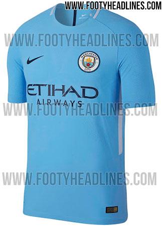 Camisa do Manchester City 2017-2018