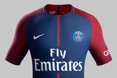Camisa PSG 2017-2018 Nike