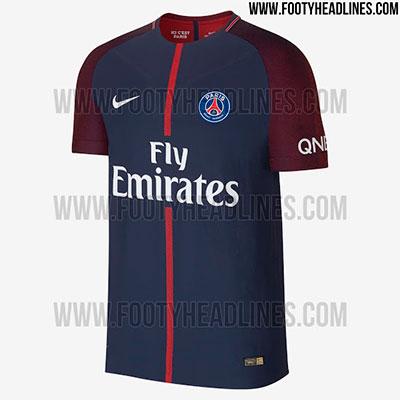 Camisa do PSG 2017-2018