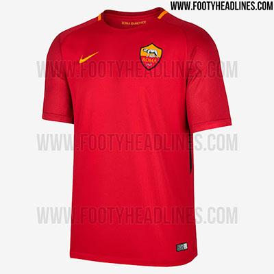 Camisa da Roma 2017-2018
