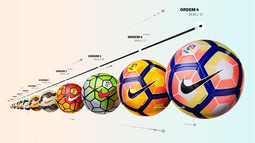 De 96-97 a 16-17: as 20 bolas da Nike para o Campeonato Espanhol