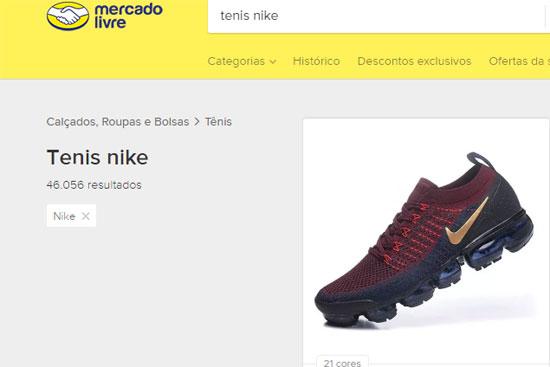 Comprar tênis Nike no Mercado Livre
