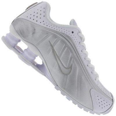 Tênis Nike Shox Feminino cinza claro