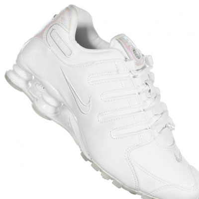 Tênis Nike Shox Feminino branco